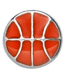 Basketball Floating Charm