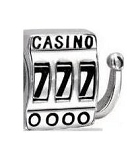 TJ Casino Slot Machine Floating Charm