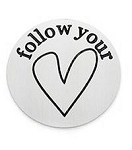 Follow Your Heart 30mm Plate
