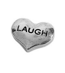 Laugh Silver Heart