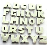 Classic Letters Floating Charm