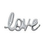 Silver Love Floating Charm