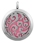 Cloud Essential Oil Diffuser Locket with 26