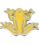 Coqui Frog Floating Charm