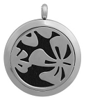 Hawaiian Flower Essential Oil Diffuser Locket with 26