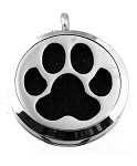 Paw Essential Oil Diffuser Locket with 26