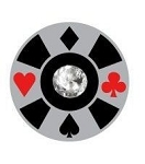TJ Poker Chip Floating Charm