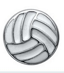Volleyball Floating Charm
