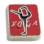 Yoga Floating Charm