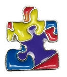 Autism Puzzle Piece Floating Charm