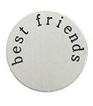 Best Friends 30mm Plate