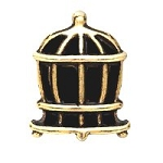 Bird Cage Floating Charm