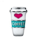 Coffee Cup Floating Charm