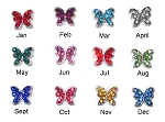 Butterfly Birthstones