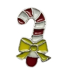 Christmas Candy Cane Floating Charm