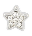 Crystal Star Floating Charm