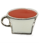 Cup of Tea Floating Charm