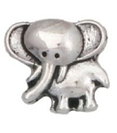 Cute Elephant Floating Charm