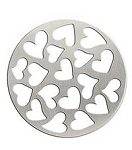 Hearts 30mm Plate