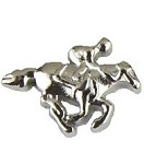 Horse Racing Floating Charm