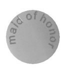 Maid of Honor 30mm Plate