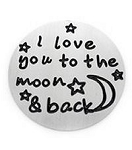 Moon and Back 30mm Plate