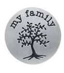 My Family Tree 30mm Plate