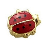 Red Lady Bug Floating Charm
