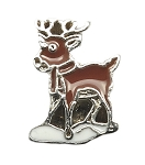 Reindeer Floating Charm