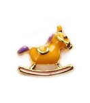 Rocking Horse Floating Charm