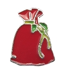 Santa Gift Bag Floating Charm