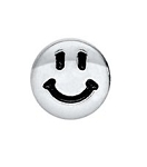 Silver Happy Face Floating Charm