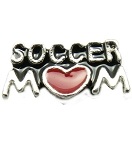 Soccer Mom Floating Charm