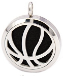 Basketball Essential Oil Diffuser Locket