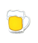 Beer Mug Floating Charm