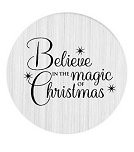 Believe in the Magic of Christmas 30mm Plate
