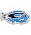 Blue Tropical Fish Floating Charm