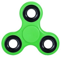 Bright Green Fidget Tri-Spinner