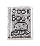 Cook Book Floating Charm