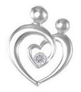 Couple in Love Floating Charm