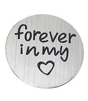 Forever in my Heart 30mm Plate
