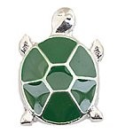 Green Turtle Floating Charm