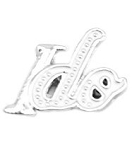 White I do Wedding Floating Charm