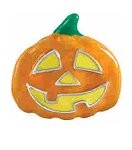 Jack O Lantern Halloween Pumpkin Floating Charm