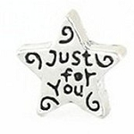 Just for You Star Floating Charm