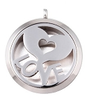 Love Heart Essential Oil Diffuser Locket