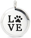 Love Pet Essential Oil Diffuser Locket