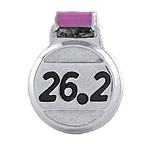 26.2 Marathon Floating Charm