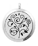 Modern Family Tree Essential Oil Diffuser Locket