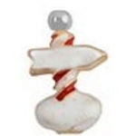 Christmas North Pole Floating Charm
